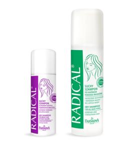 Radical - Suche szampony w aerozolu